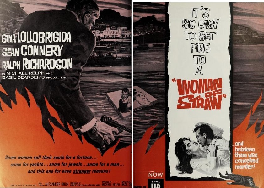 WOMAN OF STRAW BOX OFFICE USA 1964