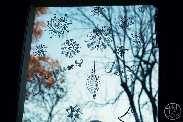 Patouille n°5 : décorer ses vitres pour les fêtes