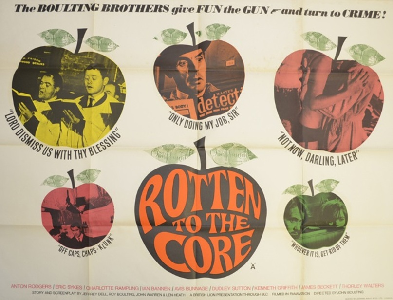 ROTTEN TO THE CORE BOX OFFICE USA 1965