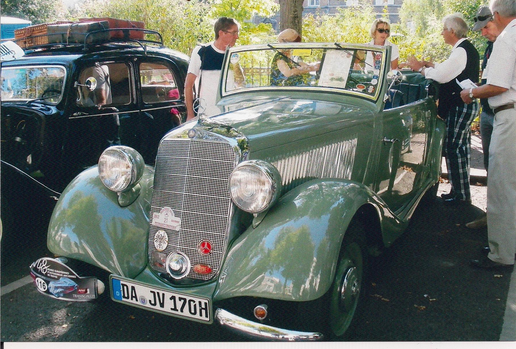 48  Heures  Eutopéennes d' Automobiles  Anciennes  de  Troyes  2012