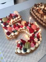 Number Cake ou gâteau chiffre