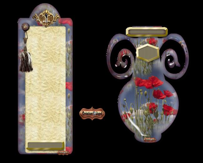 kit de luxe Coquelicot par Jopel