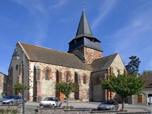 L'église Saint Nicolas de La Chapelaude