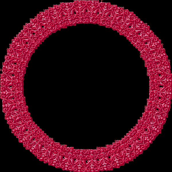 Dentelles roses 8