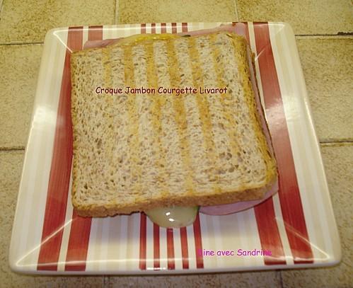 Croque Jambon Courgette Livarot 5