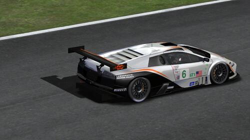 Team Krohn Barbour Racing Lamborghini Murcielago R-GT - ALMS 2004