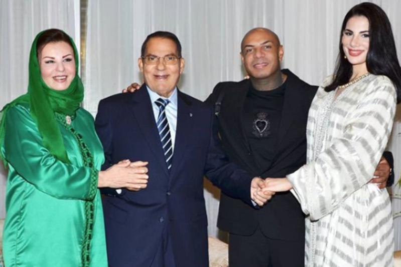 Ben Ali réapparaît à l'occasion du mariage de sa fille