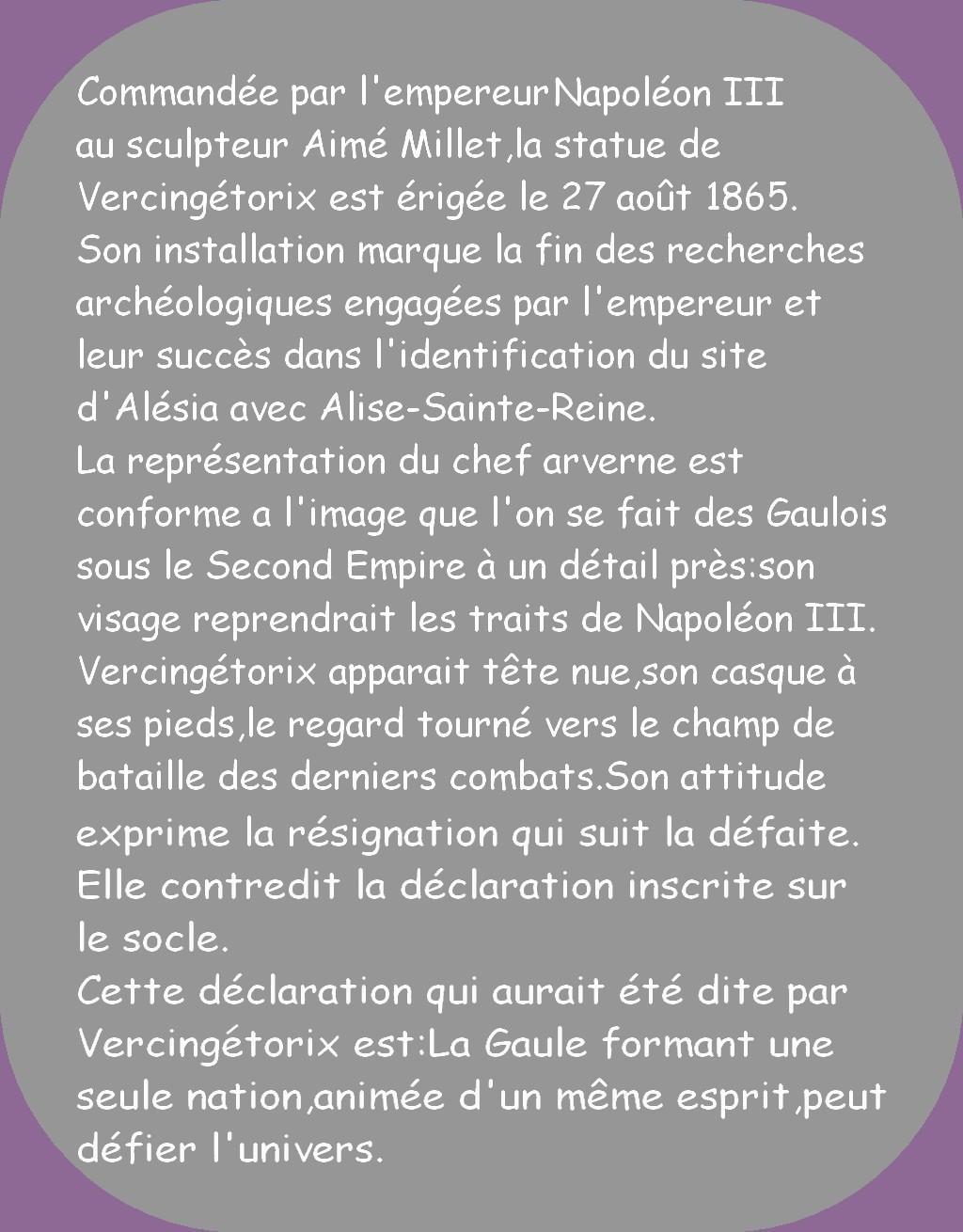 ALISE-SAINTE-REINE (ALÉSIA EN CÔTE D'OR)