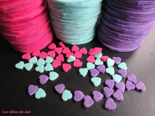 DIY perles de mousse