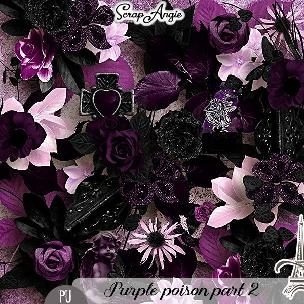 PURPLE POISON PART 1 ET PART 2 BY SCRAP'ANGIE