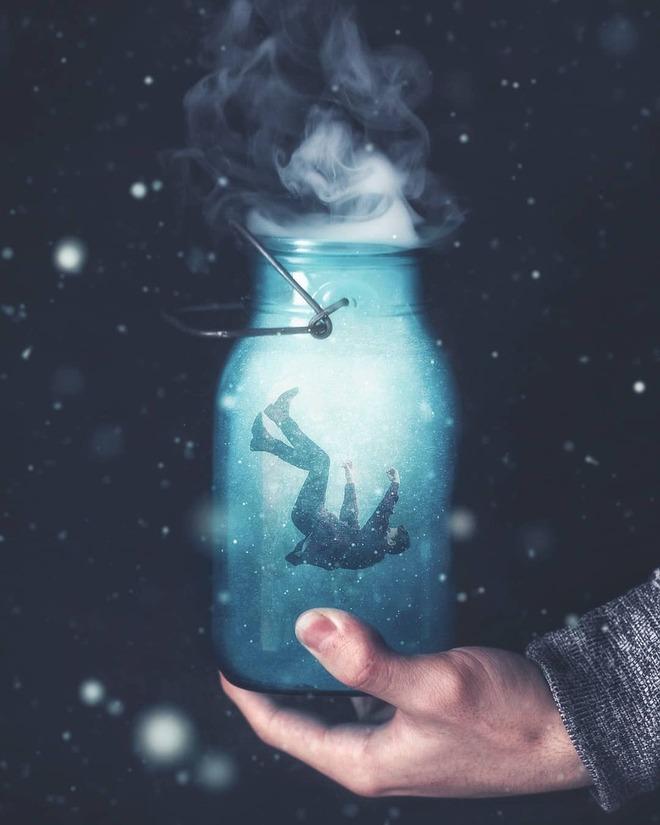photo manipulation bottle
