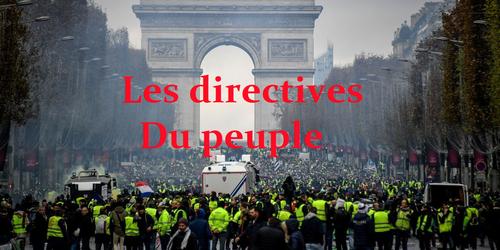 - Gilets Jaunes : Un cahier de Revendications adressé à l'Assemblée Nationale