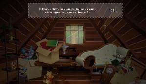 Tiny attic escape