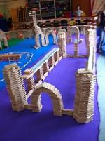 Constructions: les Kaplas - animation à l'école