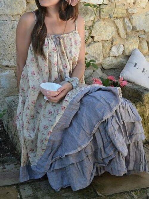 Garde-robe romantique