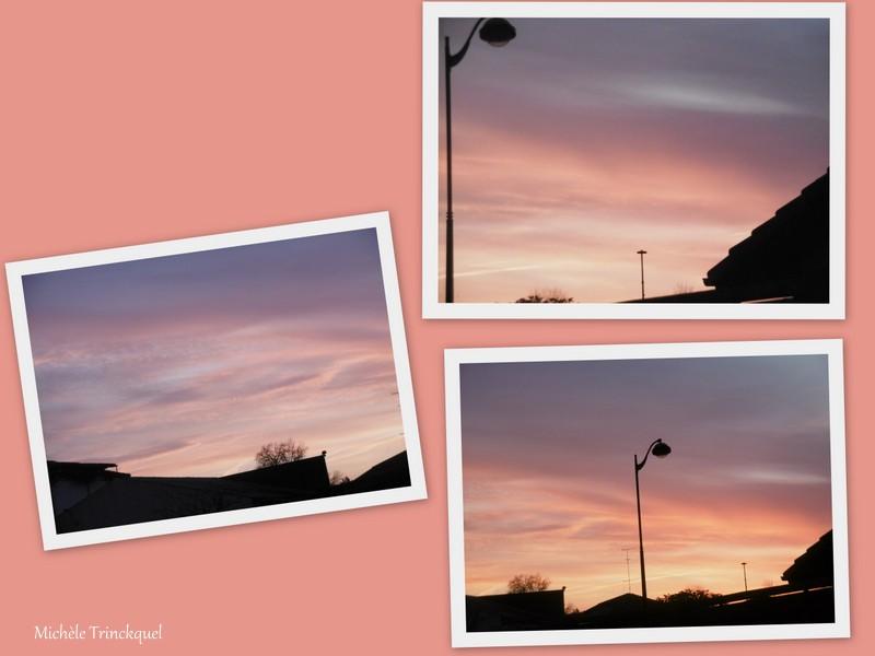 Le ciel au matin du 7 février....