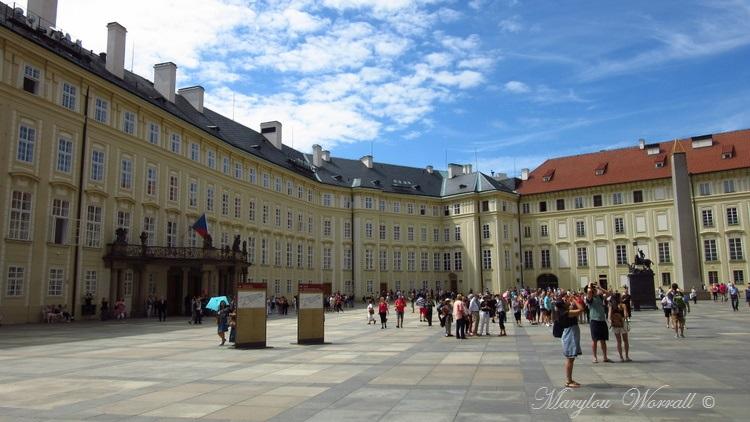 Prague : Le château