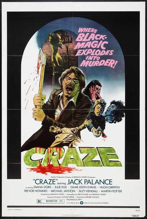 CRAZE BOX OFFICE USA 1974