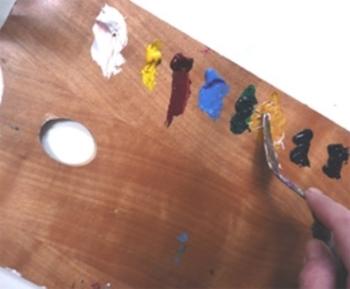 Peindre au couteau 2