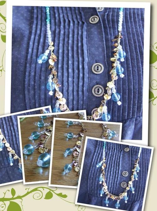 Sautoirs en perles de verre
