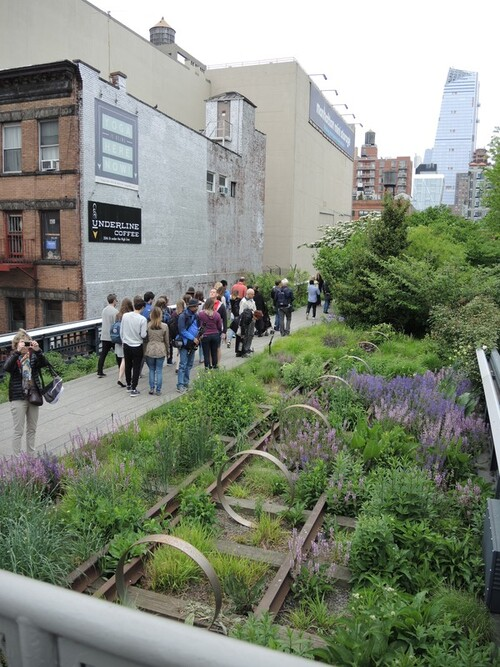 NEW YORK 2016- Jour 4- La HIGHLINE