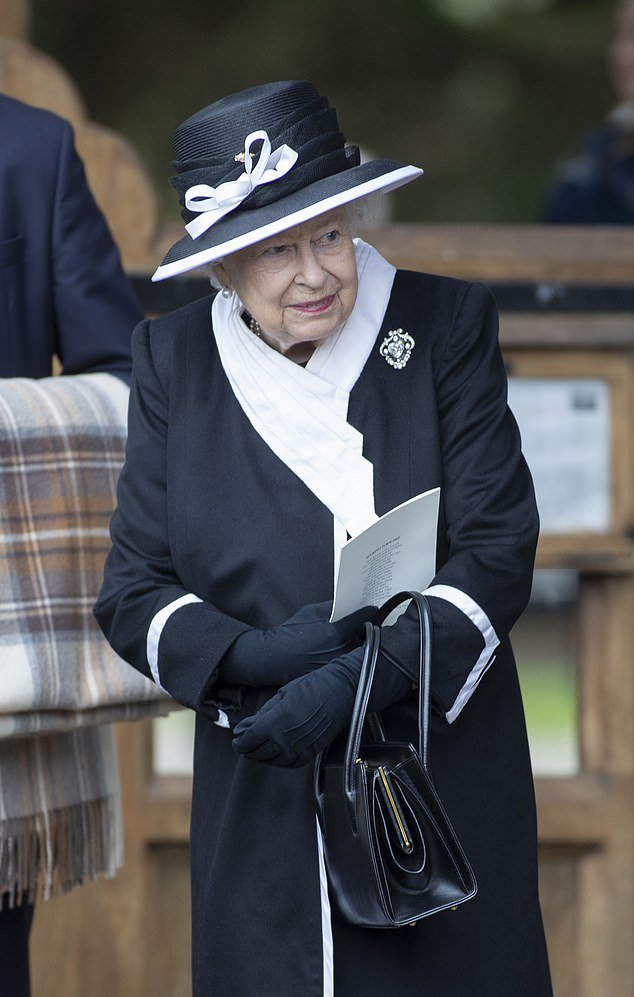 Funeral of Jeanie, Countess of Carnarvon