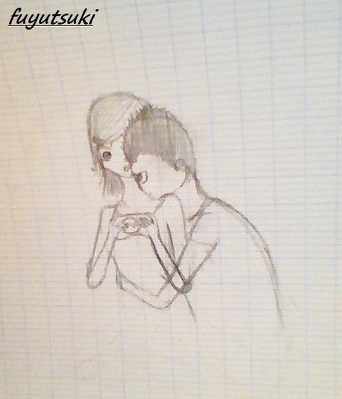 mes dessins n°3 Alice et Nico