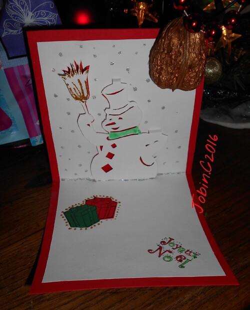 Petites Cartes de Noel