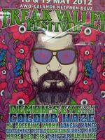 Plakat für ein Freak Valley Festival