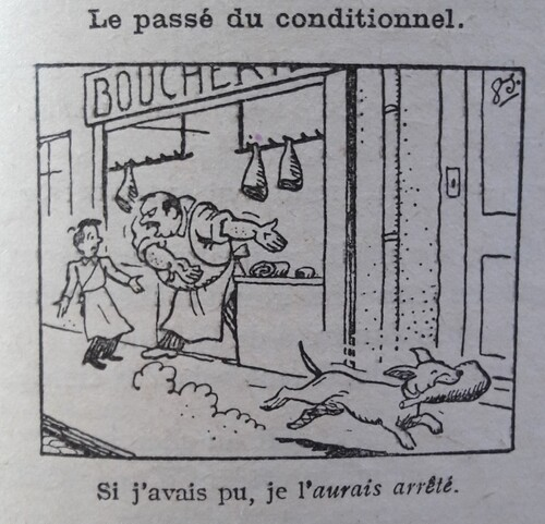 F / Le conditionnel passé