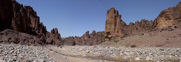 Panorama du bout des gorges