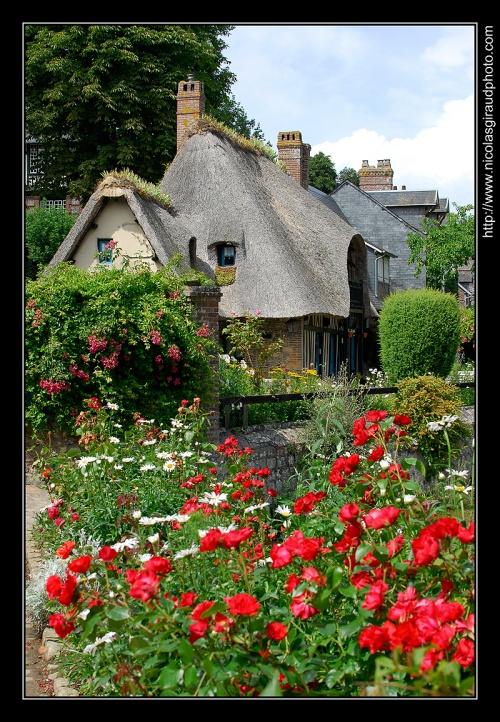 Veules les Roses, village remarquable de la côte d'Albâtre