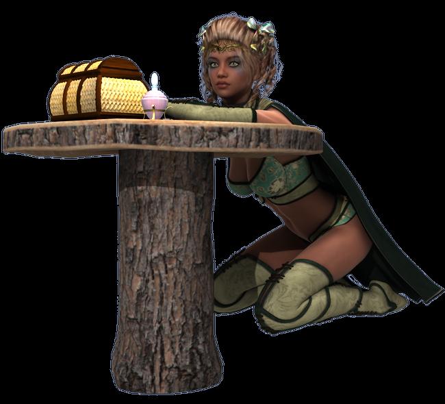 Tube de femme elfe (image-render)