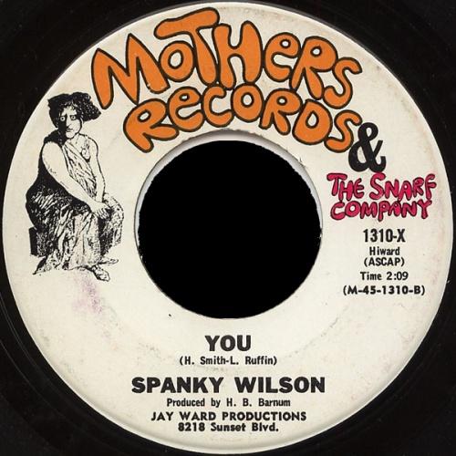 Spanky Wilson : You