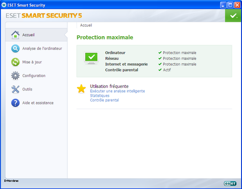 Eset Smart Security 5 - Licence 6 mois gratuit