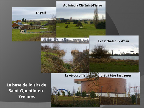 Première randonnée de 2014 à la base de loisirs de Saint-Quentin-en-Yvelines