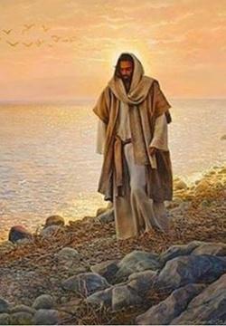 Jésus, tout près de moi, toute joie....