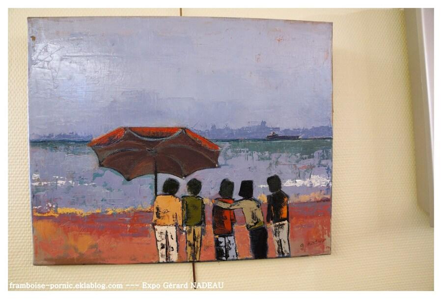 Exposition Gérard NADEAU au Sémaphore à Préfailles