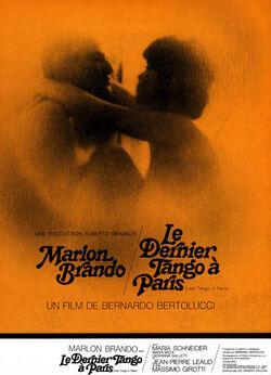 DERNIER TANGO A PARIS 1972
