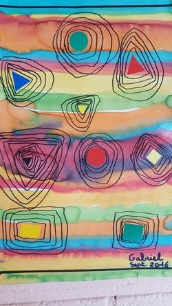 Formes géométriques et tracés selon S.