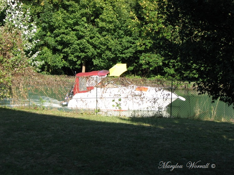 Souffelweyersheim 67 : Trafic sur le canal 2/2