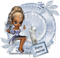 Minis Tags Messages - Set #5 Cookies en Hiver