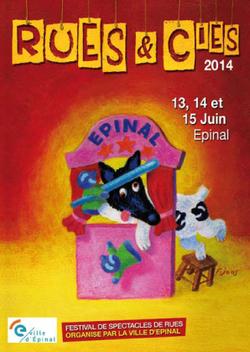 uchronisme à Rues et cies le 14 et 15 juin 2014 à Epinal