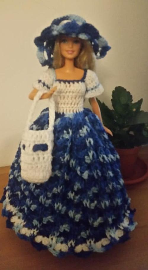 Ma toute première robe barbie