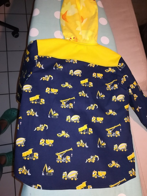 Une chemise pour Flo