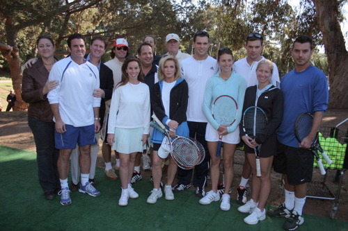 Passionnée de tennis