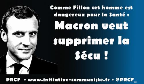 Macron attaque la sécu : un patron d'assurance privée dirige le ministère de la santé ! (IC.fr-27/05/2017)