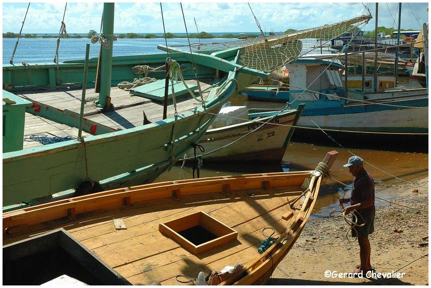 Santa Cruz Cabralia - Le port  3.