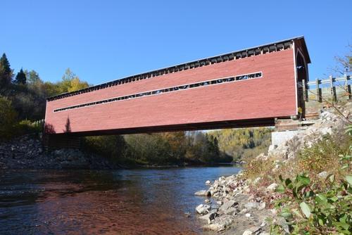 rivière Sainte Marguerite, pont Louis Gravel