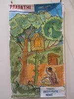 """Exposition à la médiathèque """"A la rencontre des Adivasi"""" (4)"""
